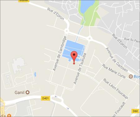 Carte de Caen (nouvelle fenêtre)