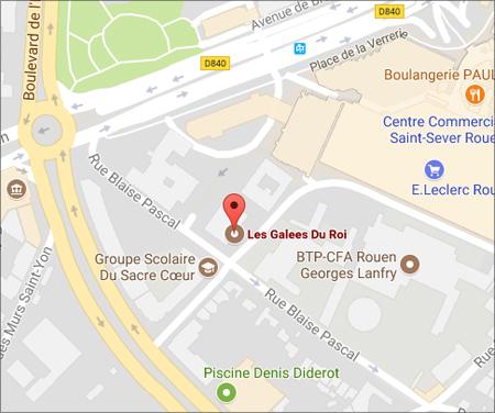 Carte de Rouen (nouvelle fenêtre)
