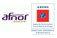 Logos de l'Ademe et de l'AFNOR